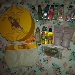 L'Occitane HUGE LOT Set with Gift Box! 💖